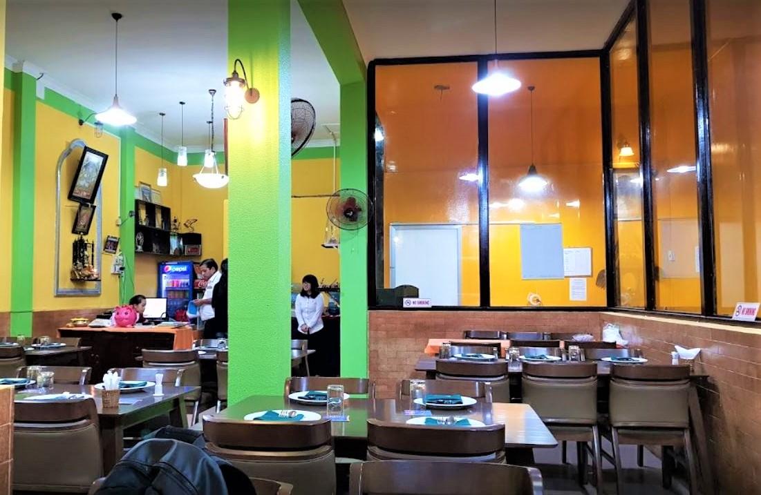 Saigon Indian restaurant space