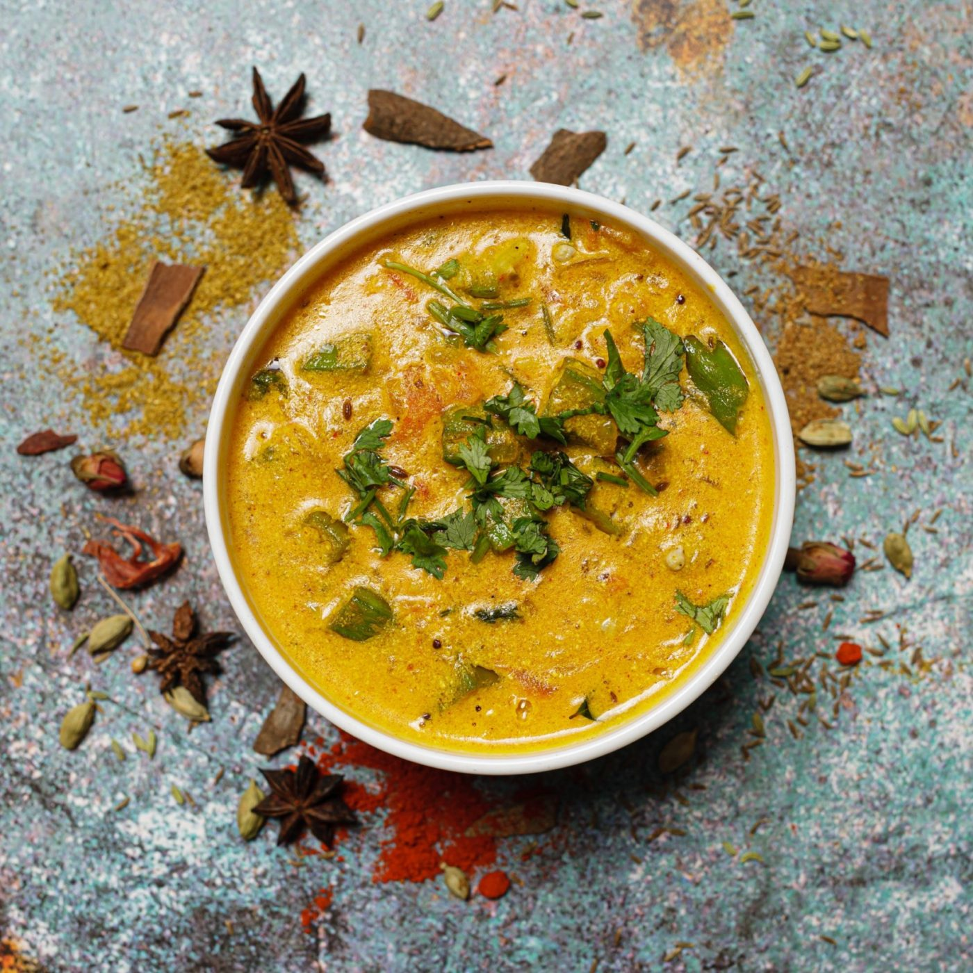 Indian & South Asian restaurants - Tandoor Dahi bhindi