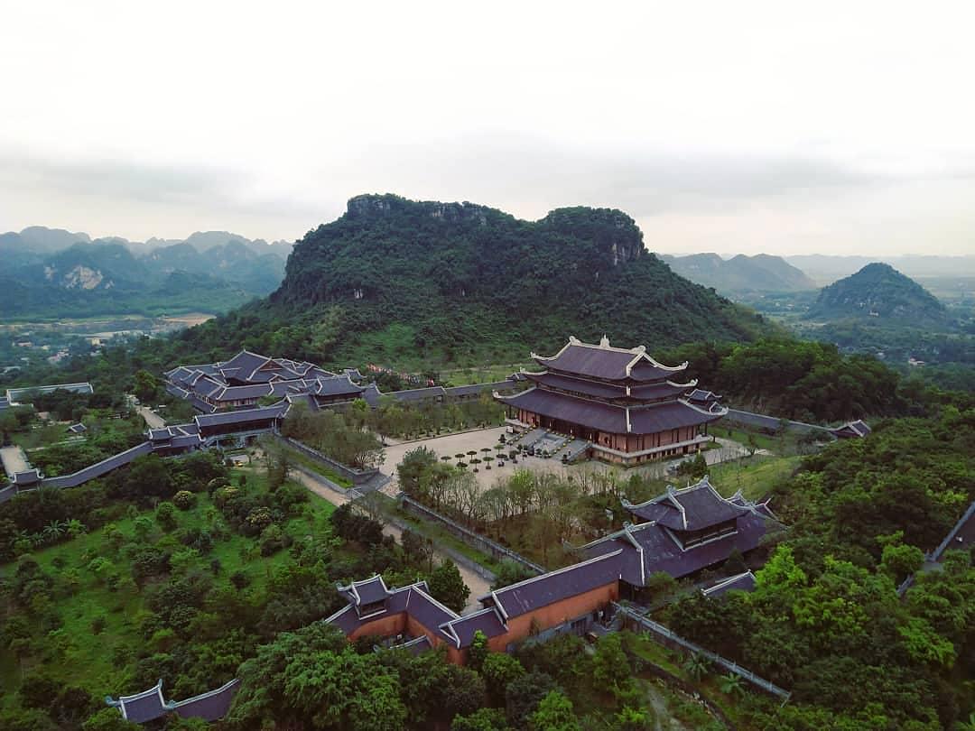 Vietnam pagodas - Bái Đính pagoda