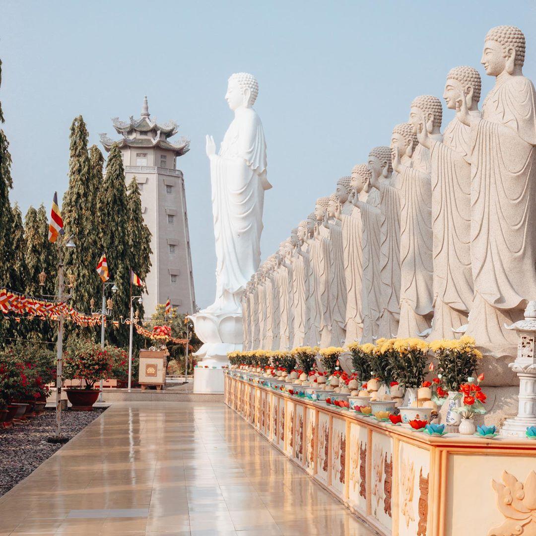 Vietnam pagodas - Đại Tòng Lâm pagoda