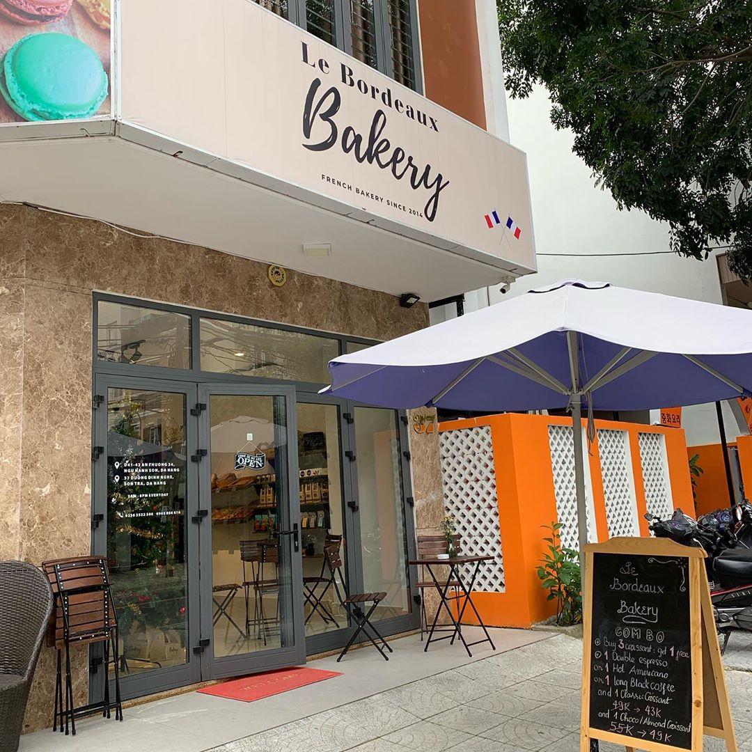 đà nẵng bakeries - le bordeaux facade