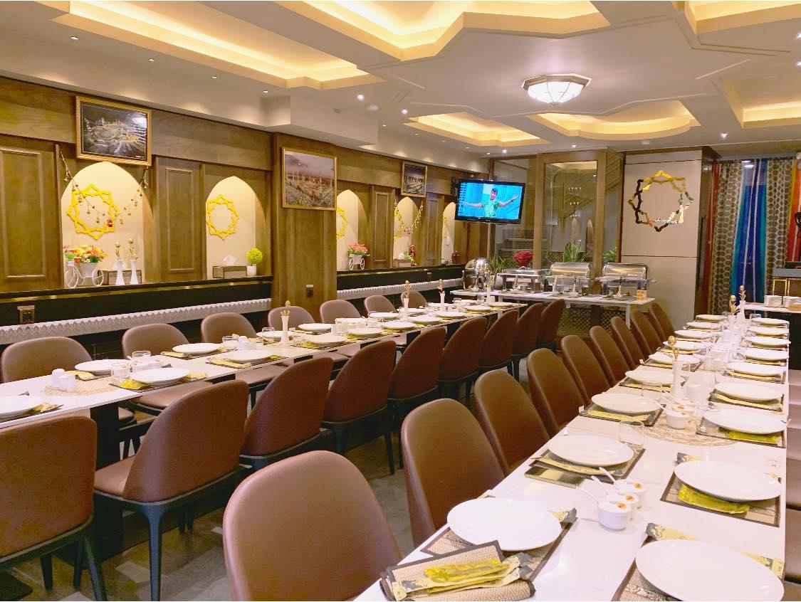Shanti restaurant dining space