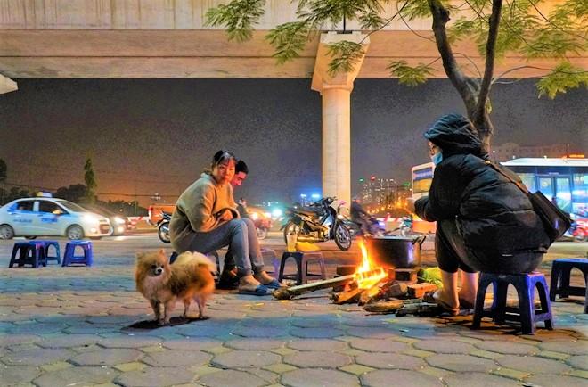hanoi winter burn fire