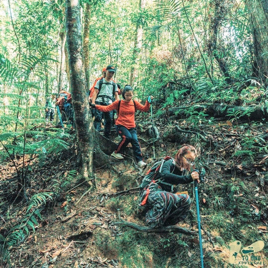 bidoup trekking
