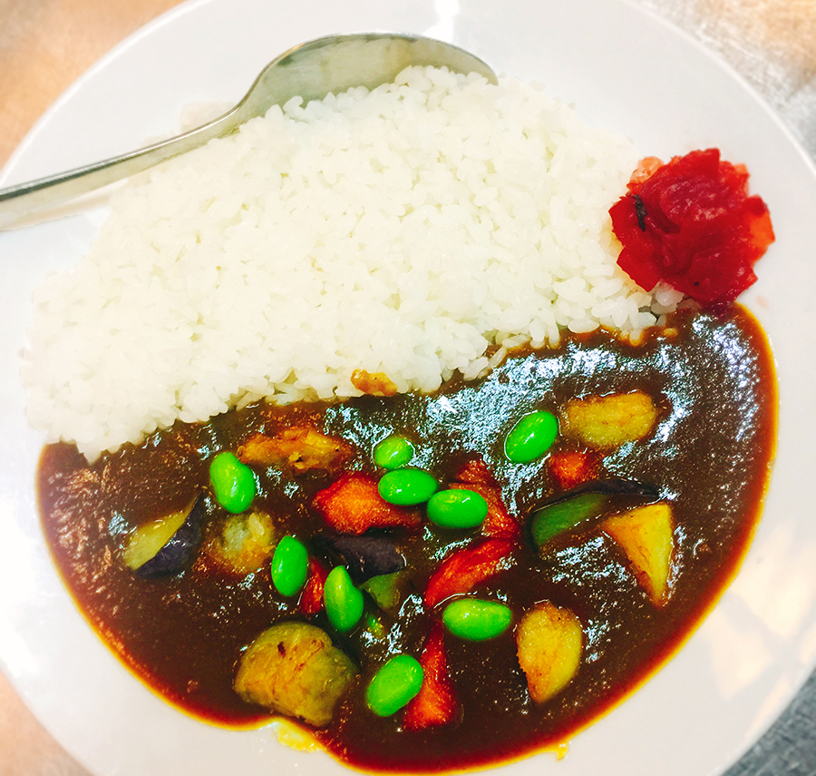 DAICHII RAMEN & CURRY vegan curry