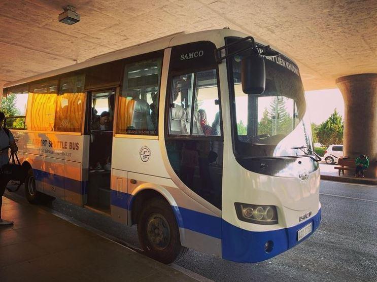 lien khuong airport bus