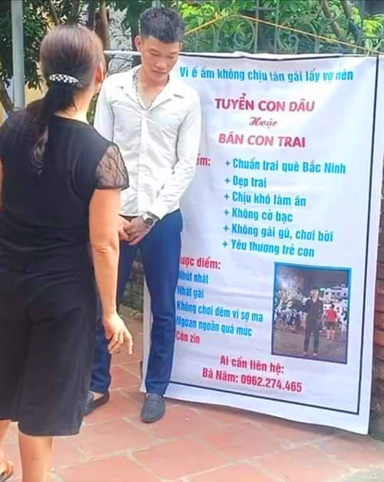 mom finds wife for son ad
