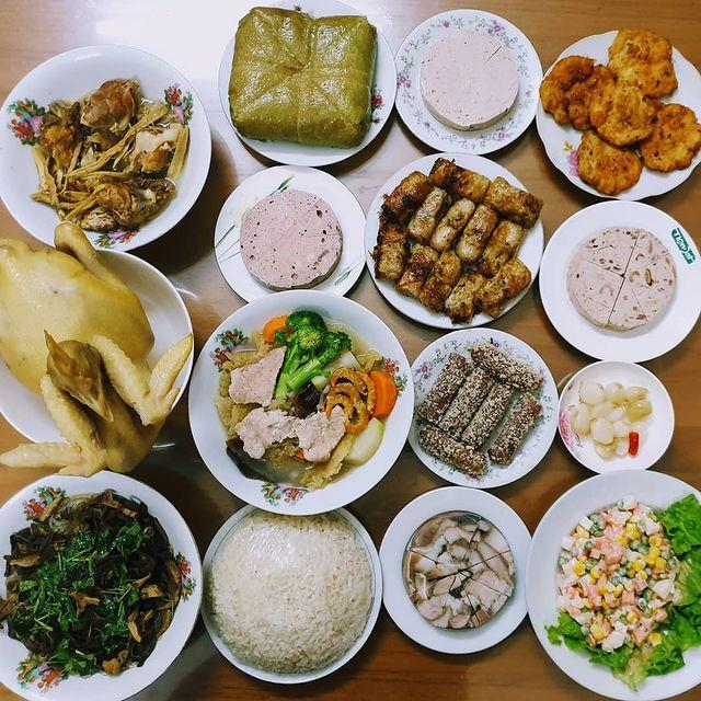 Tet dishes in Hanoi