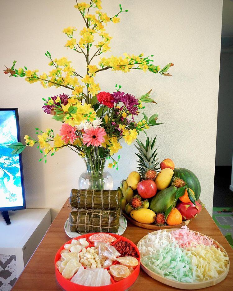 5 fruit tray Saigon