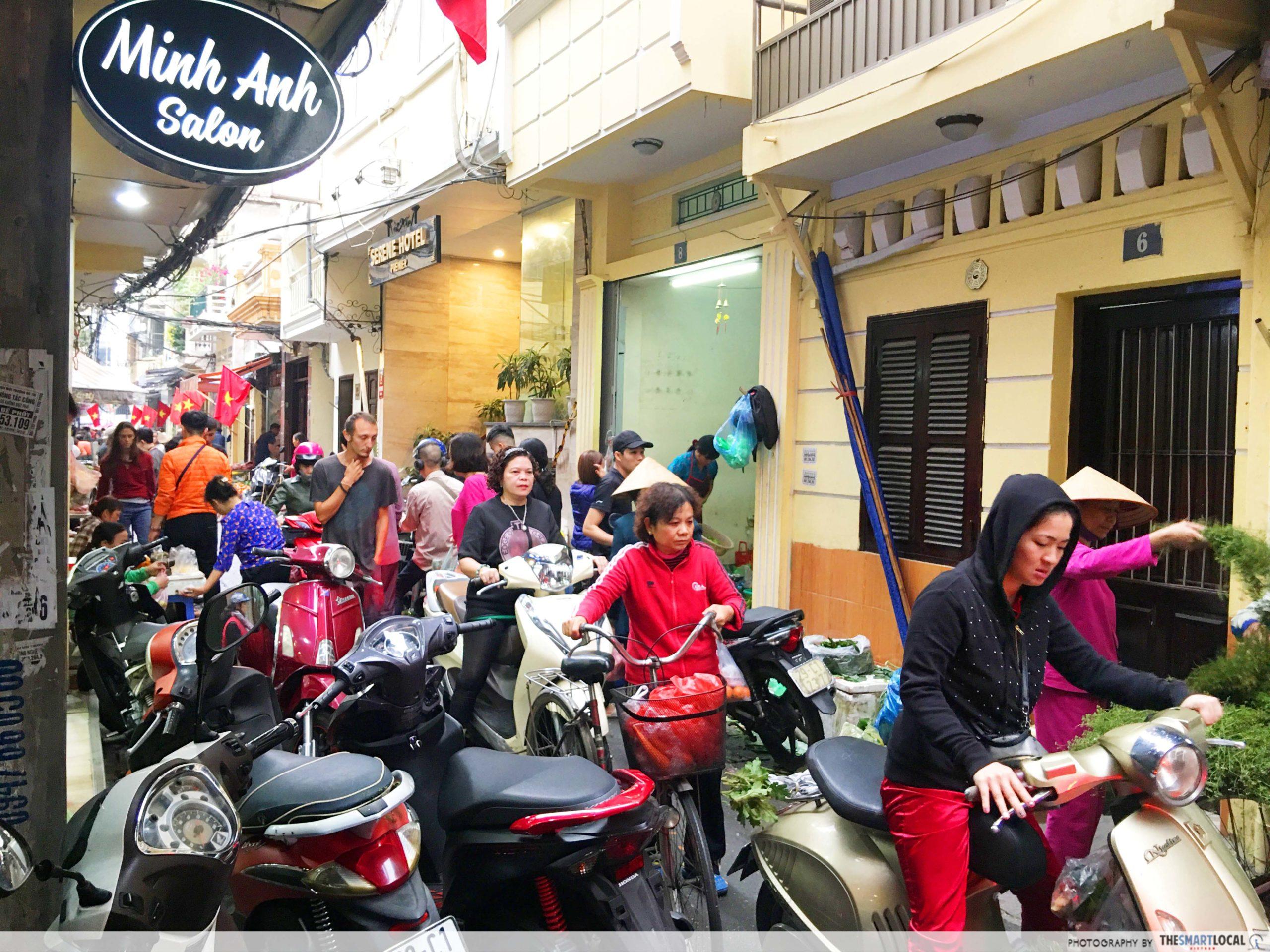 Hanoi Old Quarters street