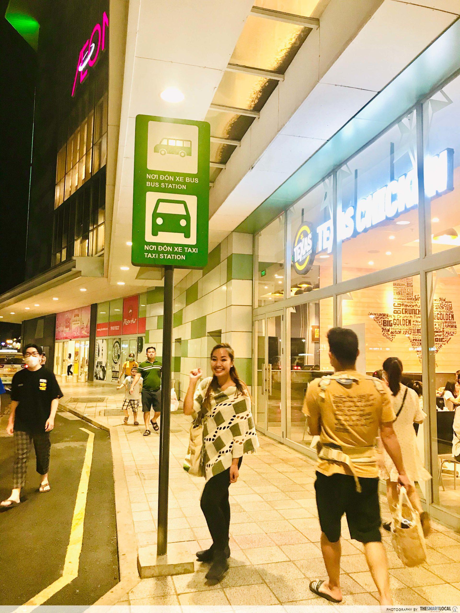 Aeon mall bus station