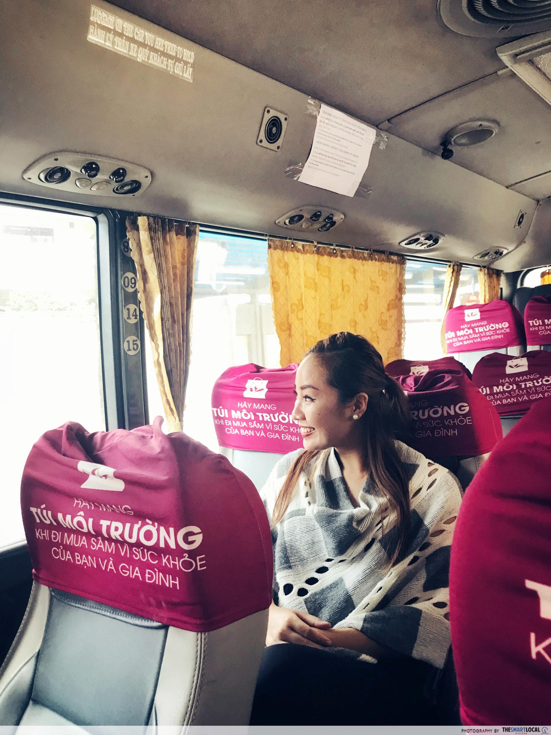 Aeon mall shuttle bus