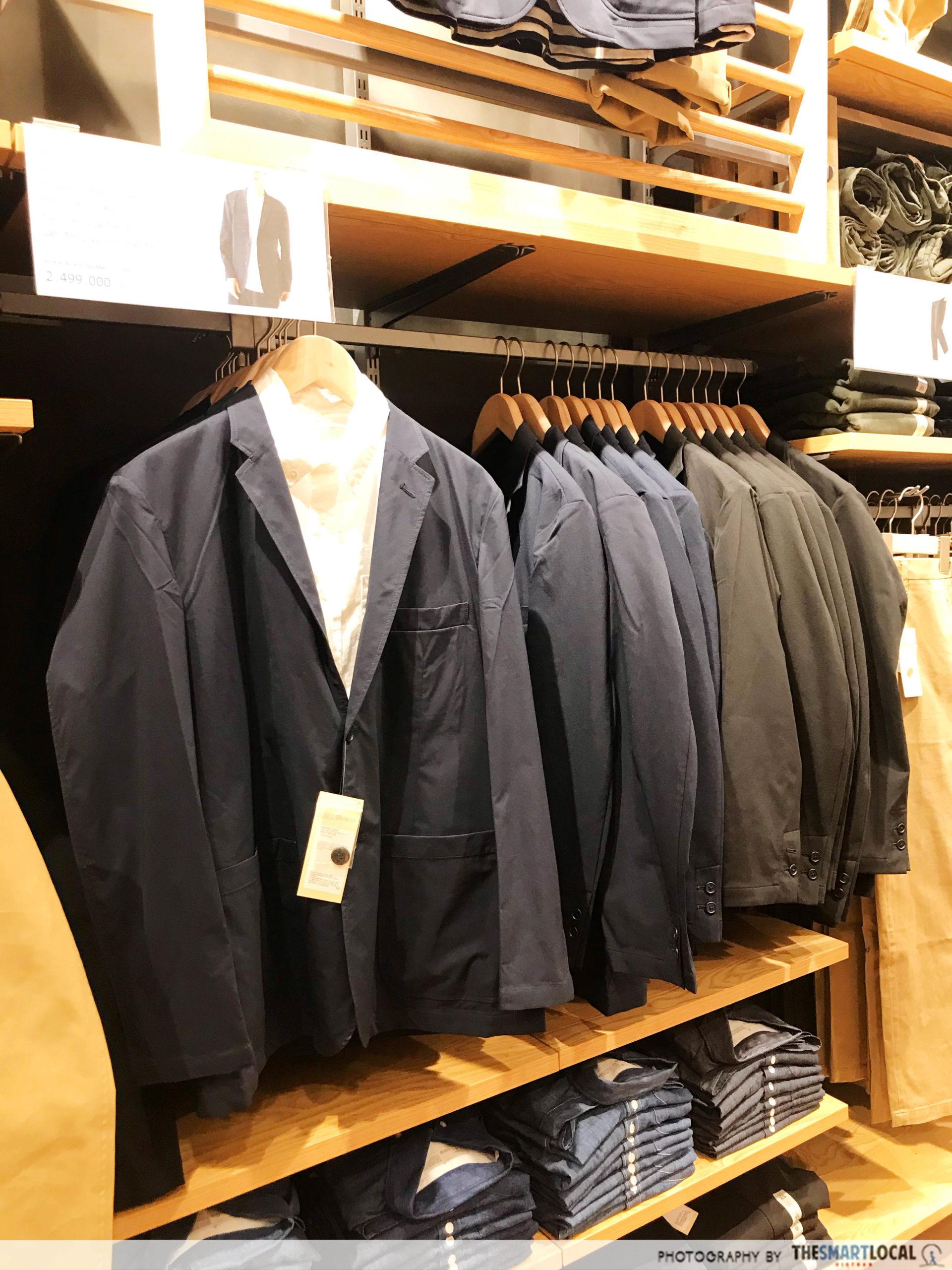MUJI HCMC waterproof jackets