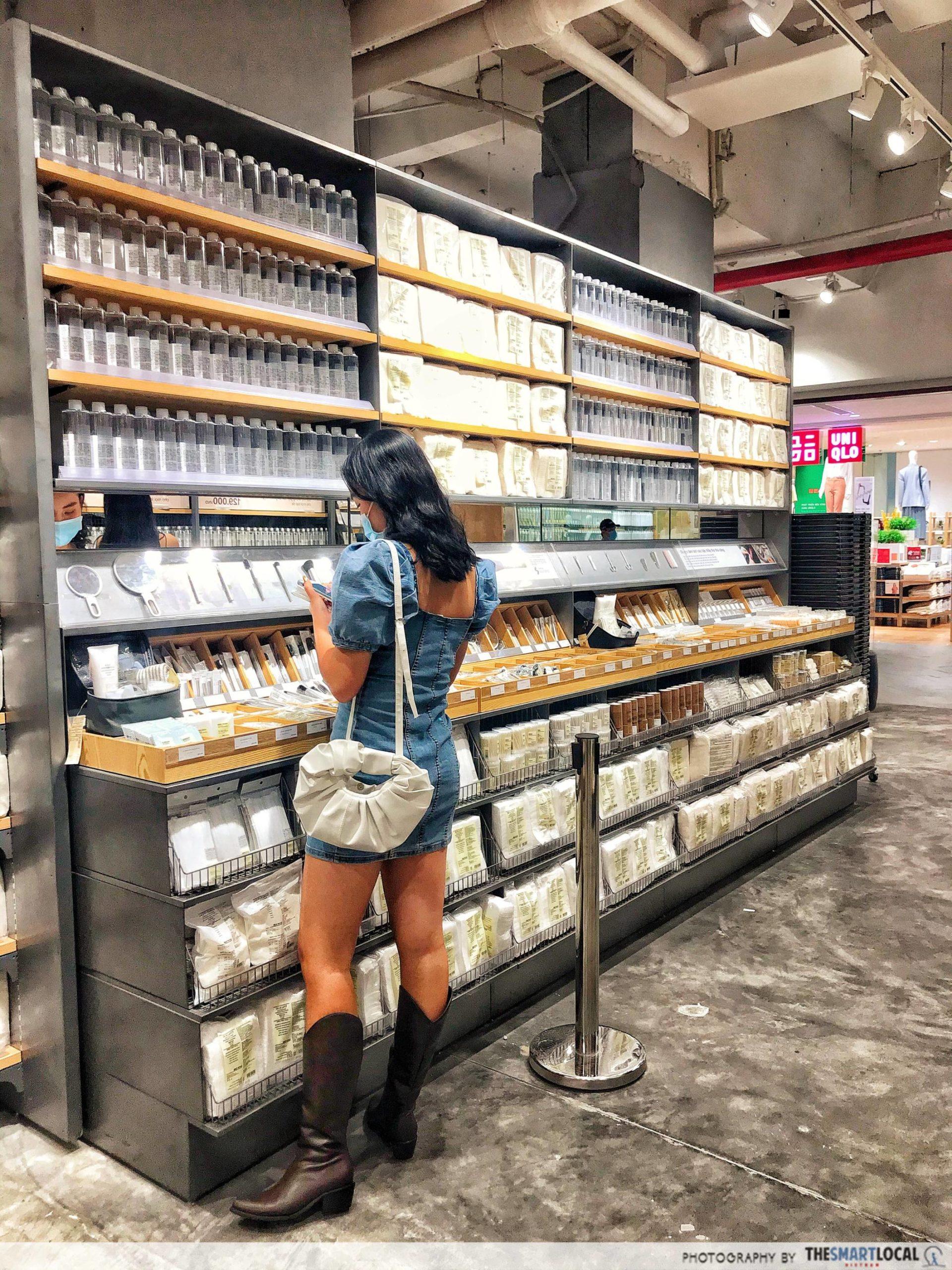 MUJI HCMC cosmetics