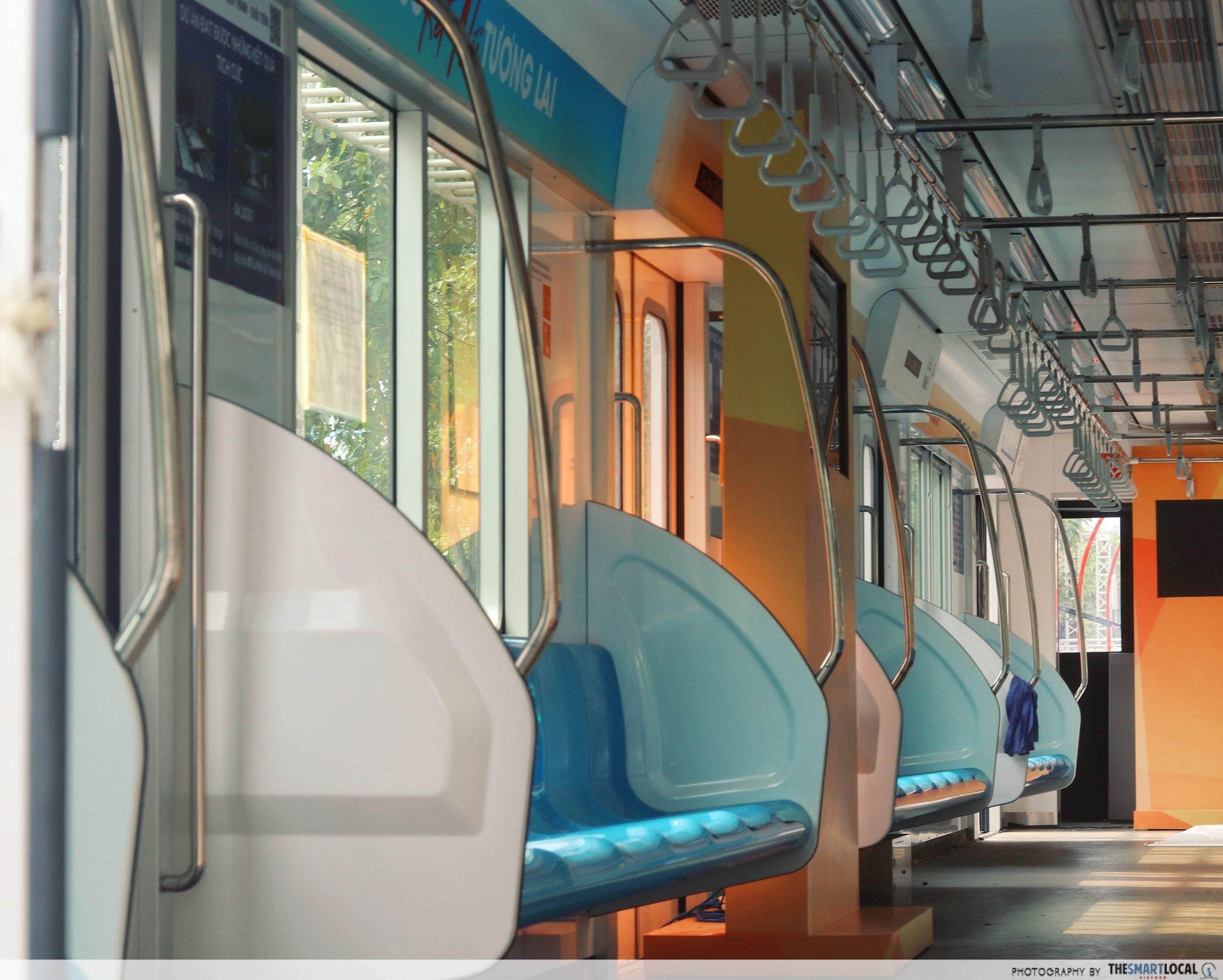 Saigon metro replica