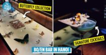 Bo/en Is A New Hanoi Bar Where You Can Gawk At Fascinating Rare Butterfly & Herb Specimens