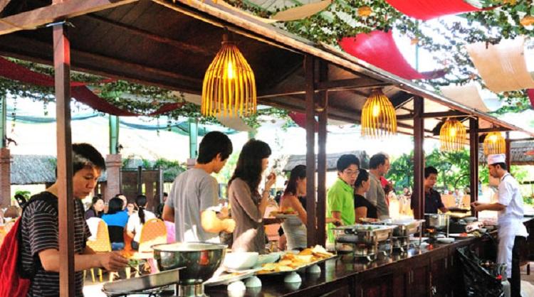 dai nam eating area
