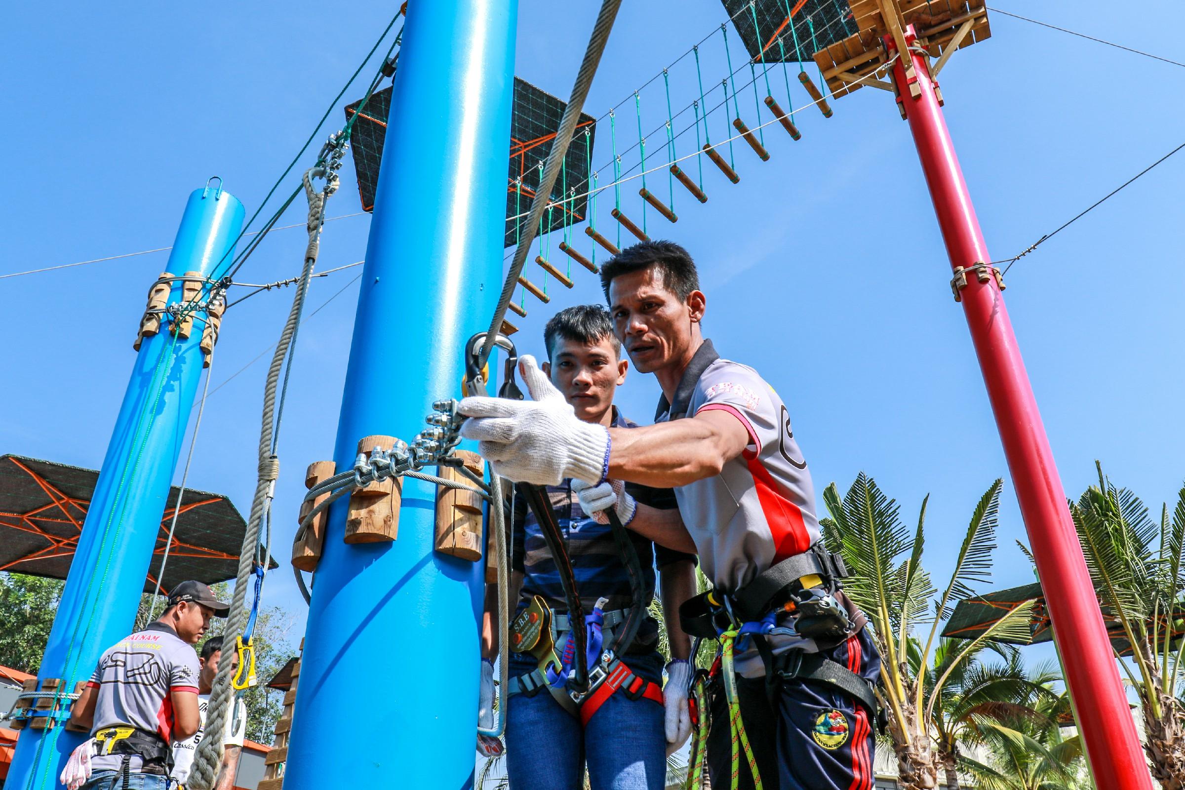 dai nam high ropes course