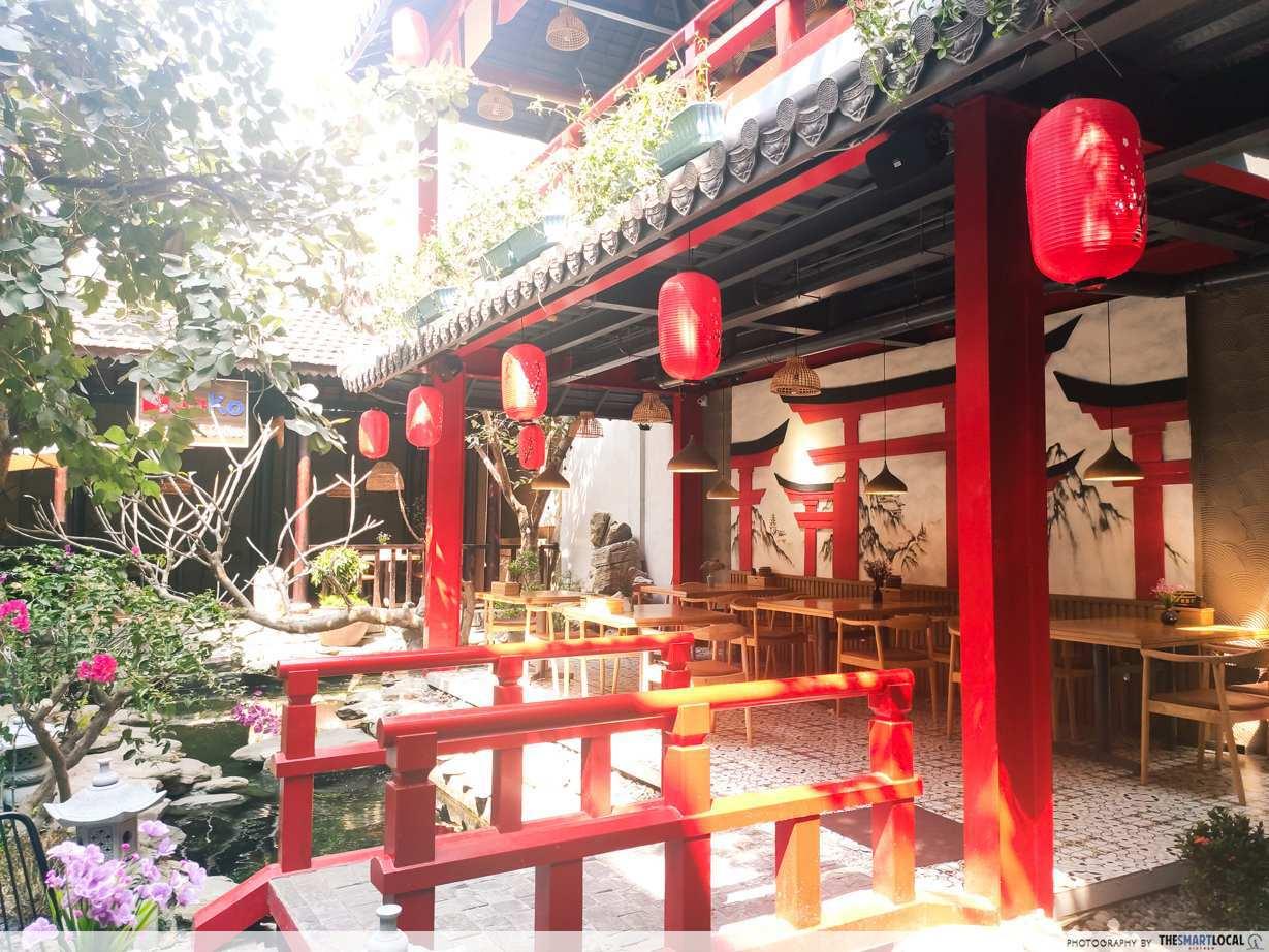 jako restaurant japanese garden