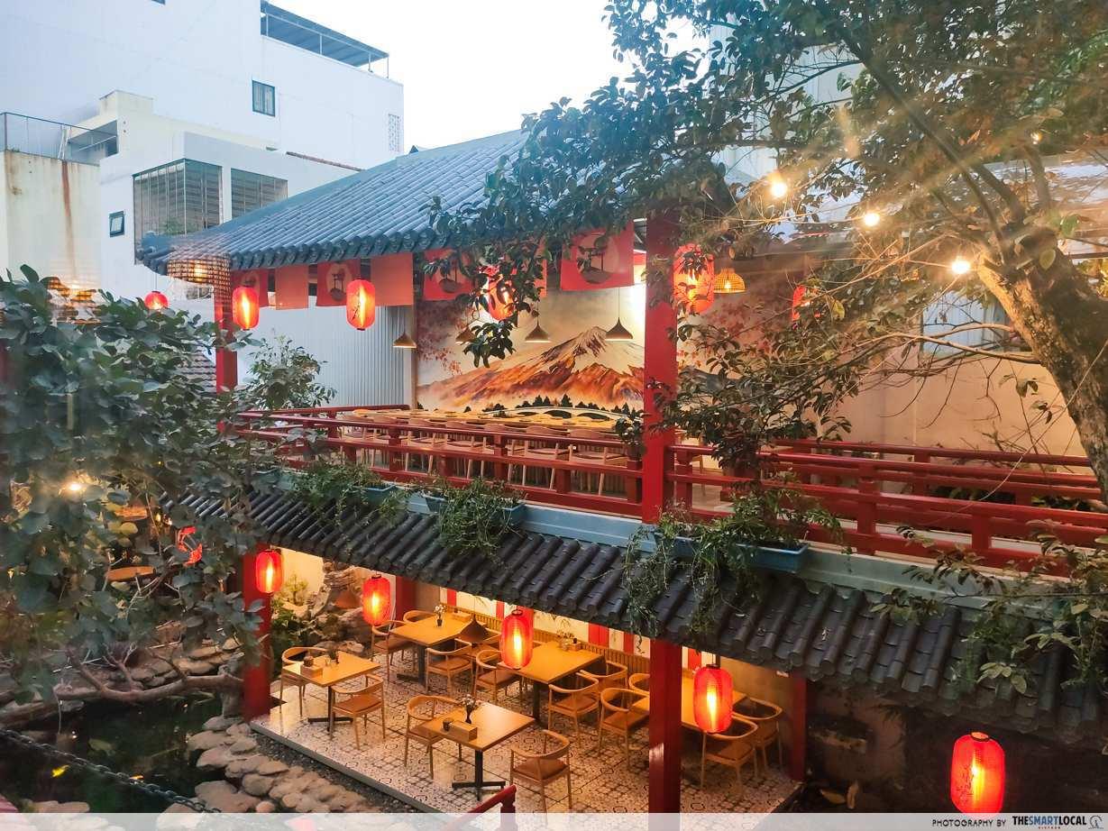 jako restaurant from 2nd floor
