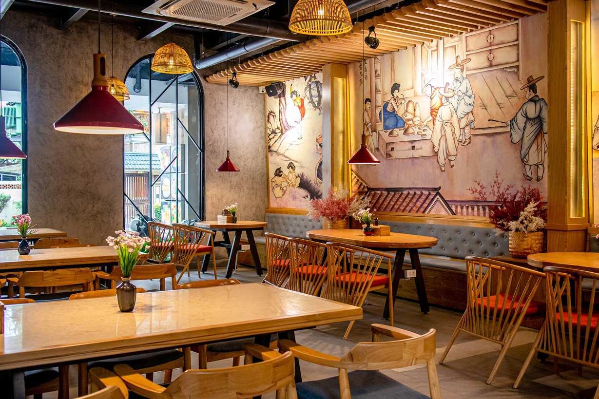jako restaurant korean space