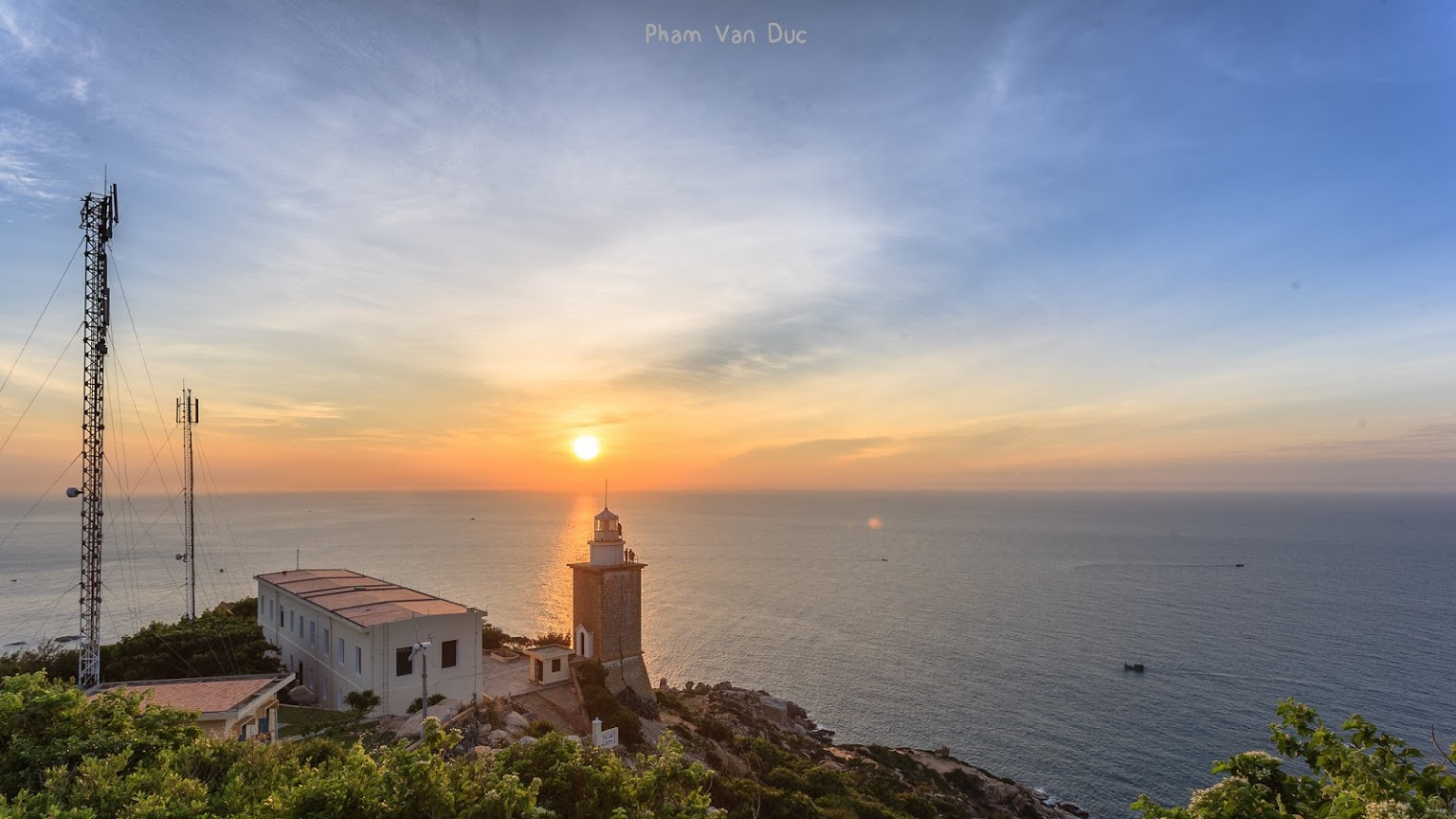 vietnam lighthouses - mui dinh lighthouse
