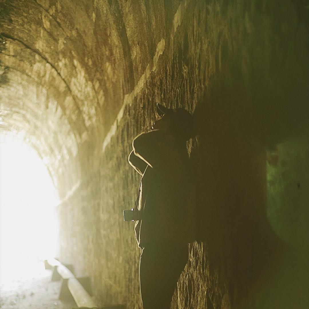 beautiful abandoned places - Da Lat railway tunnel inside