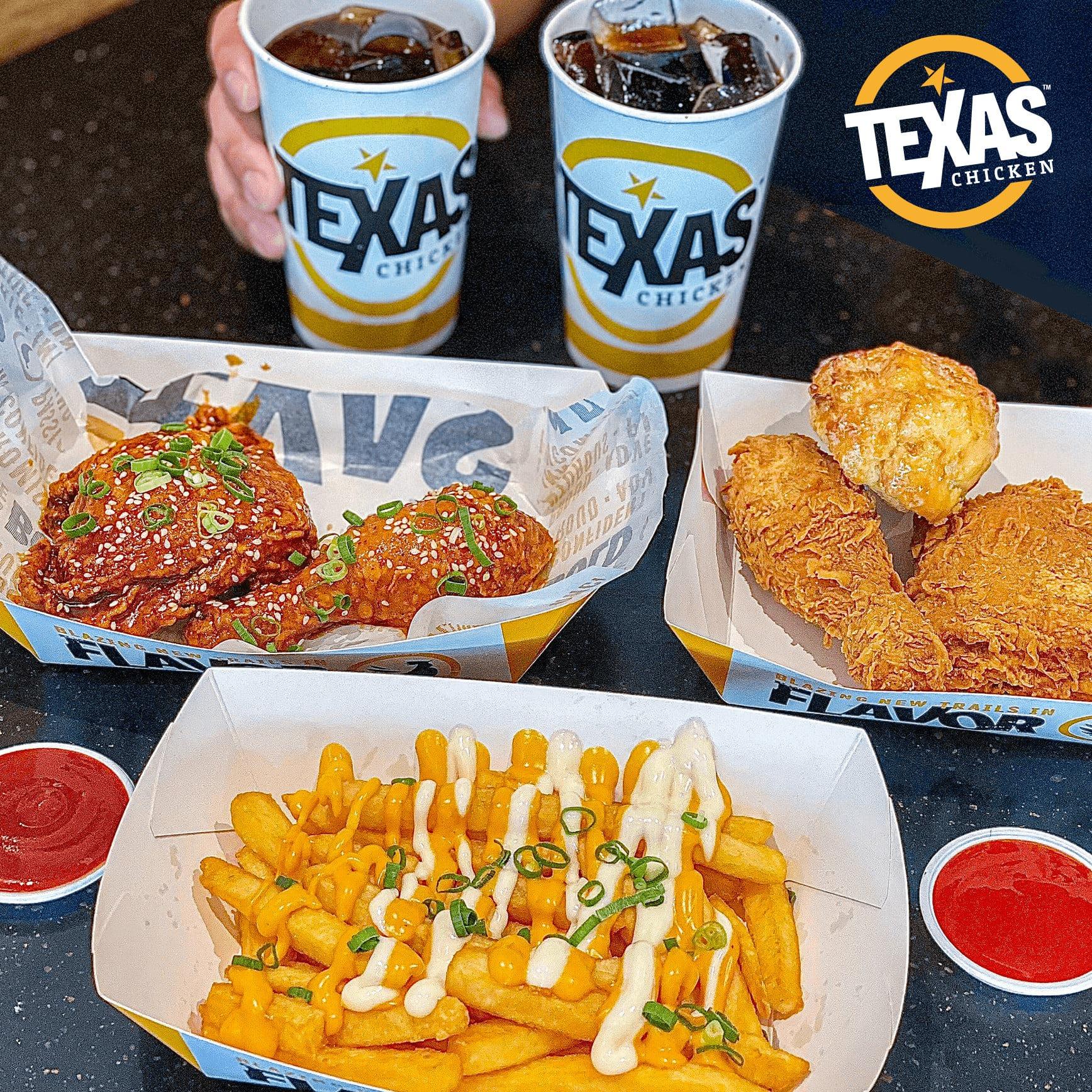 Aeon mall Texas Chicken