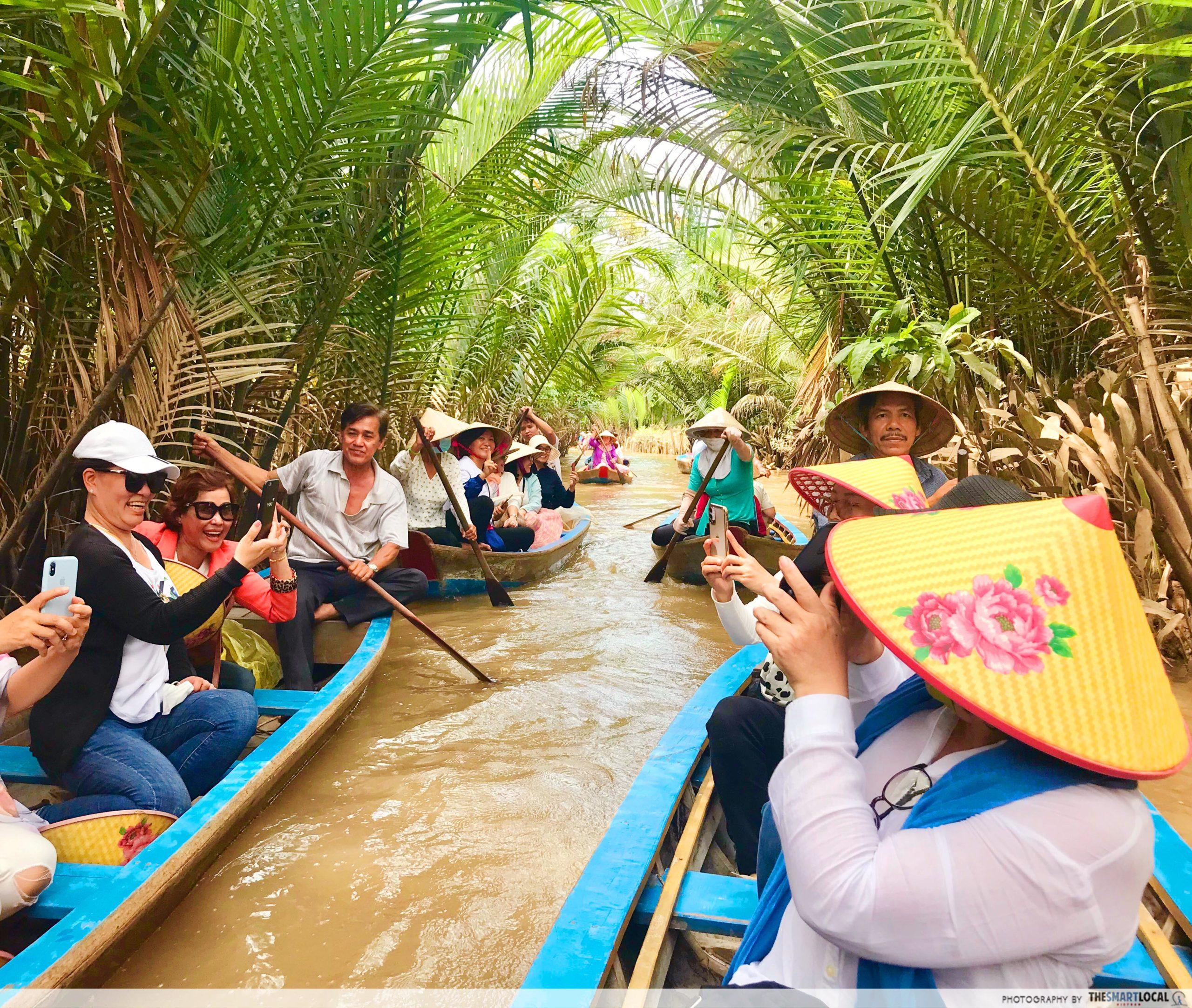 Mekong boat ride