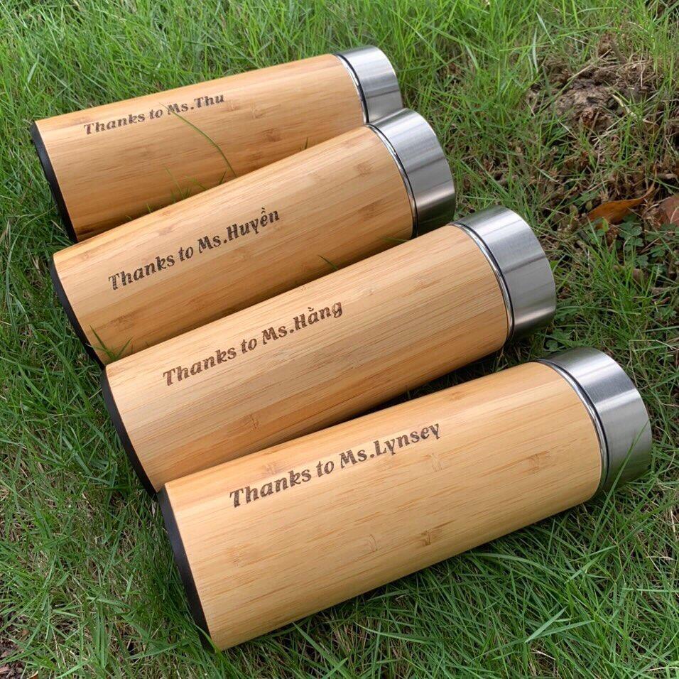 ecofriendly personalised water bottles