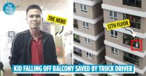 3-Year-Old Falls Off 12th-Floor Balcony In Hanoi, Saved By Truck Driver In The Nick Of Time