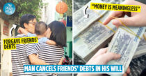 "Healthy 32-Year-Old Man Writes Will Forgiving Friends' Debts Because Money Is ""Meaningless"""
