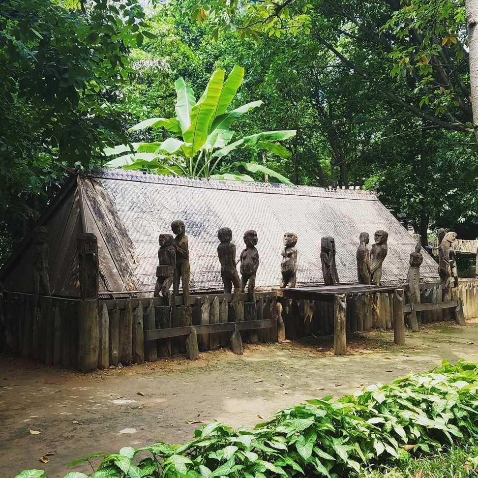 museum of ethnology - gia rai tomb