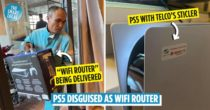 Viral Post Shows Man Buying PS5, Lying To His Wife That It's A Wifi Router