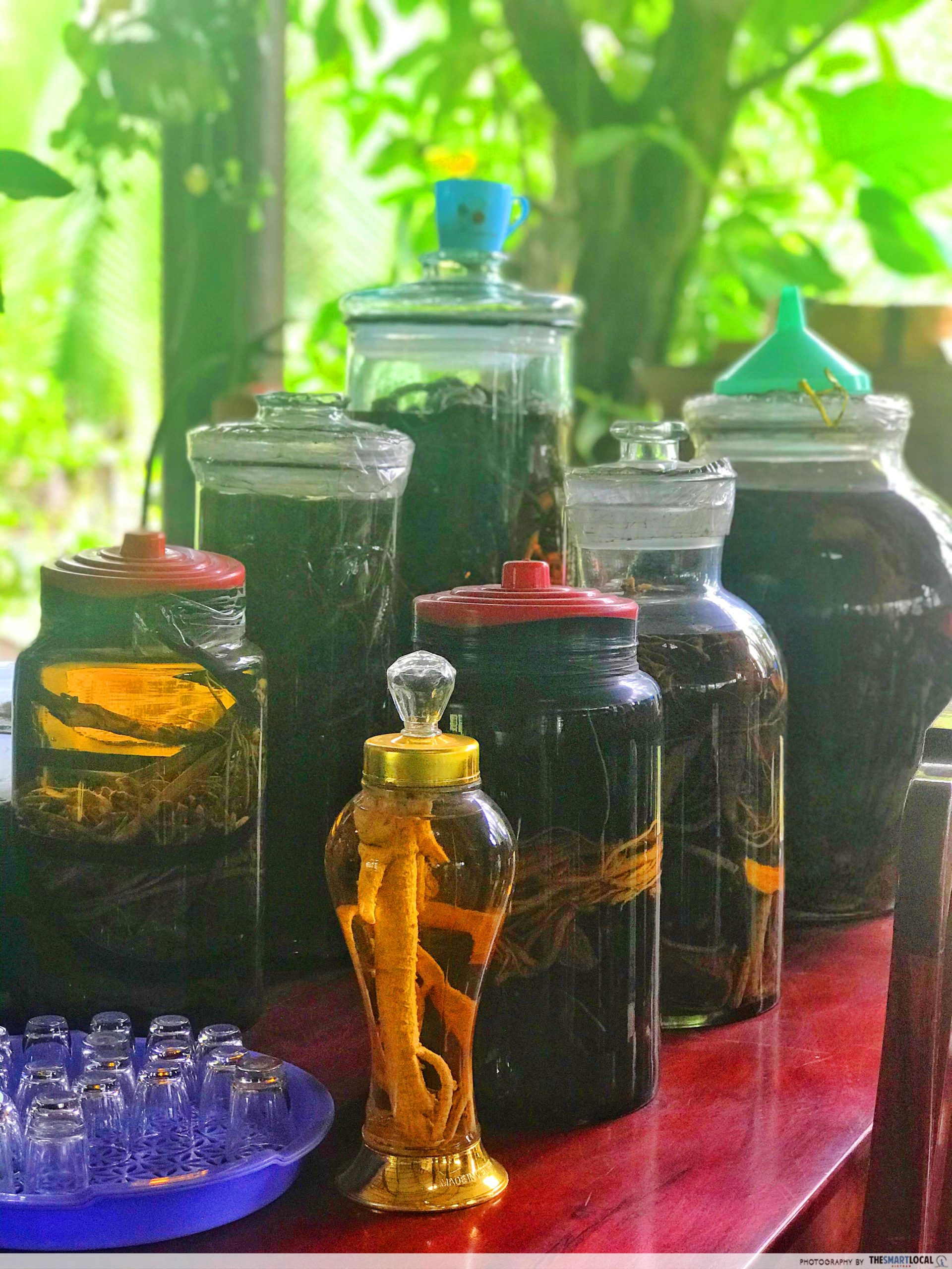 Mekong home brewed wine