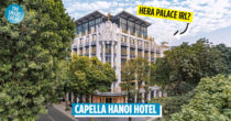 Capella Hanoi Hotel's Winged Statue Reminds Us Of Hera Palace Sans The Penthouse Drama