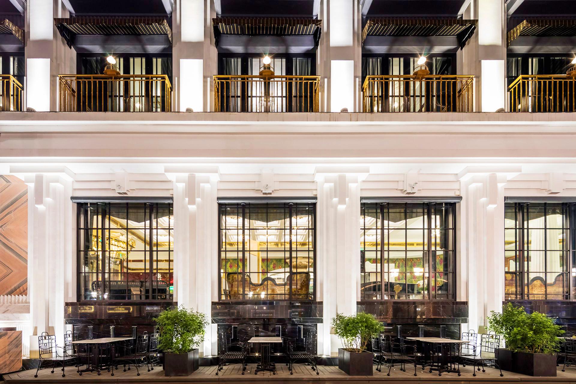 Capella Hanoi Hotel-terrace