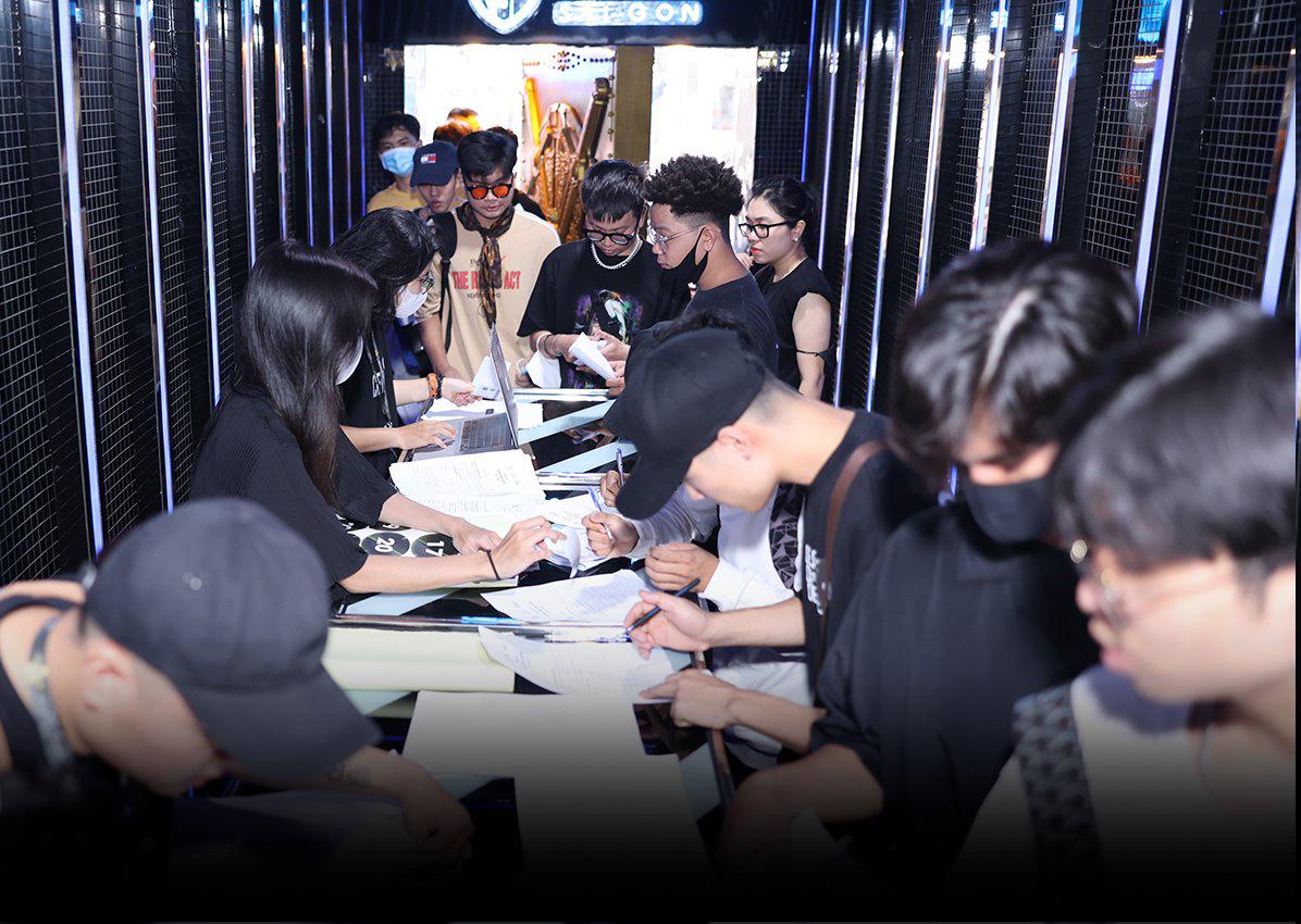 RAP VIET SEASON 2 casting in Saigon