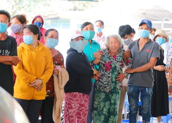 house fires in Saigon - victim's relative