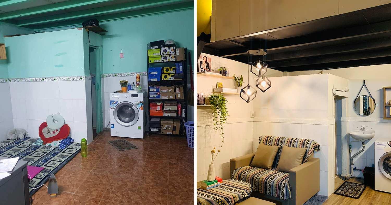 saigon man home renovation - first floor