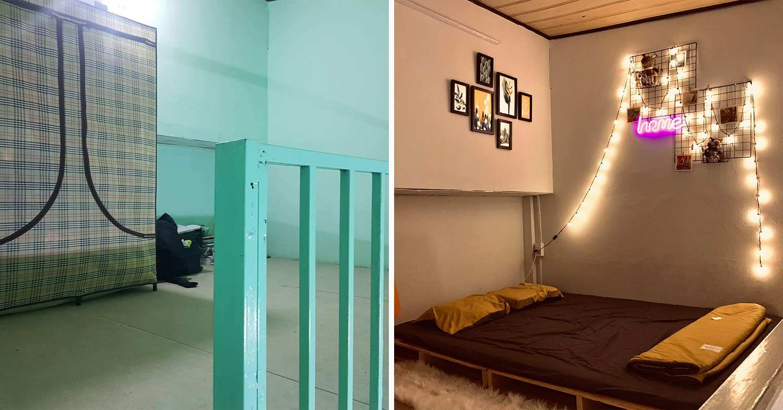 saigon man home renovation - loft floor