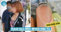 Drug Dealer Sells Marijuana Bubble Tea To Addicts, Gets Arrested By Police