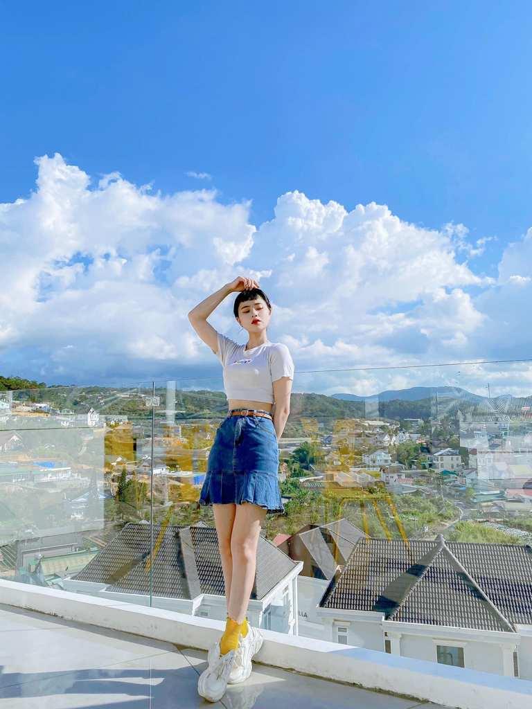 unique buildings Vietnam - orimi rooftop