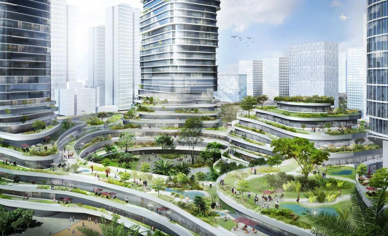 empire city saigon rice terraces