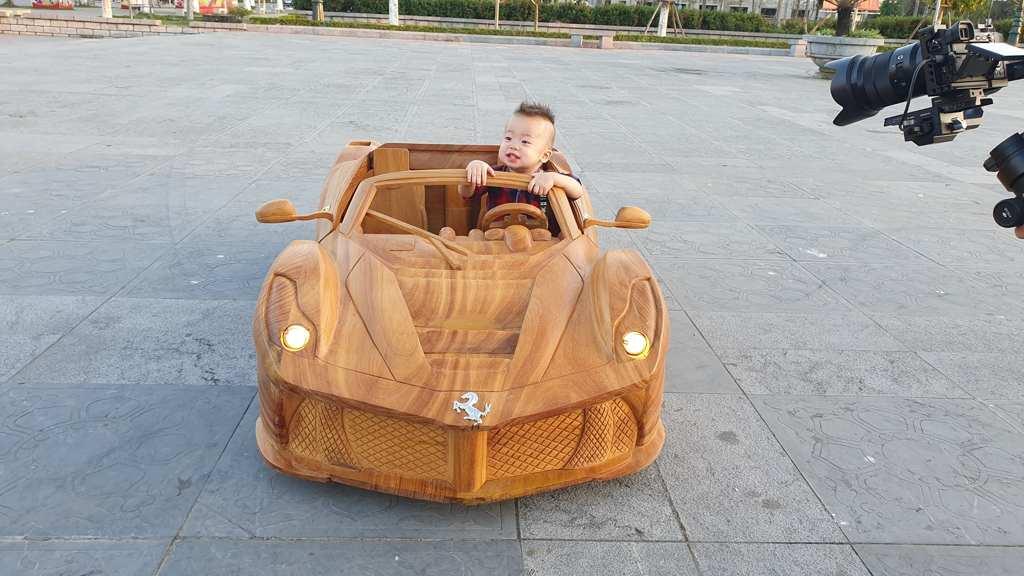 drivable wood car 2