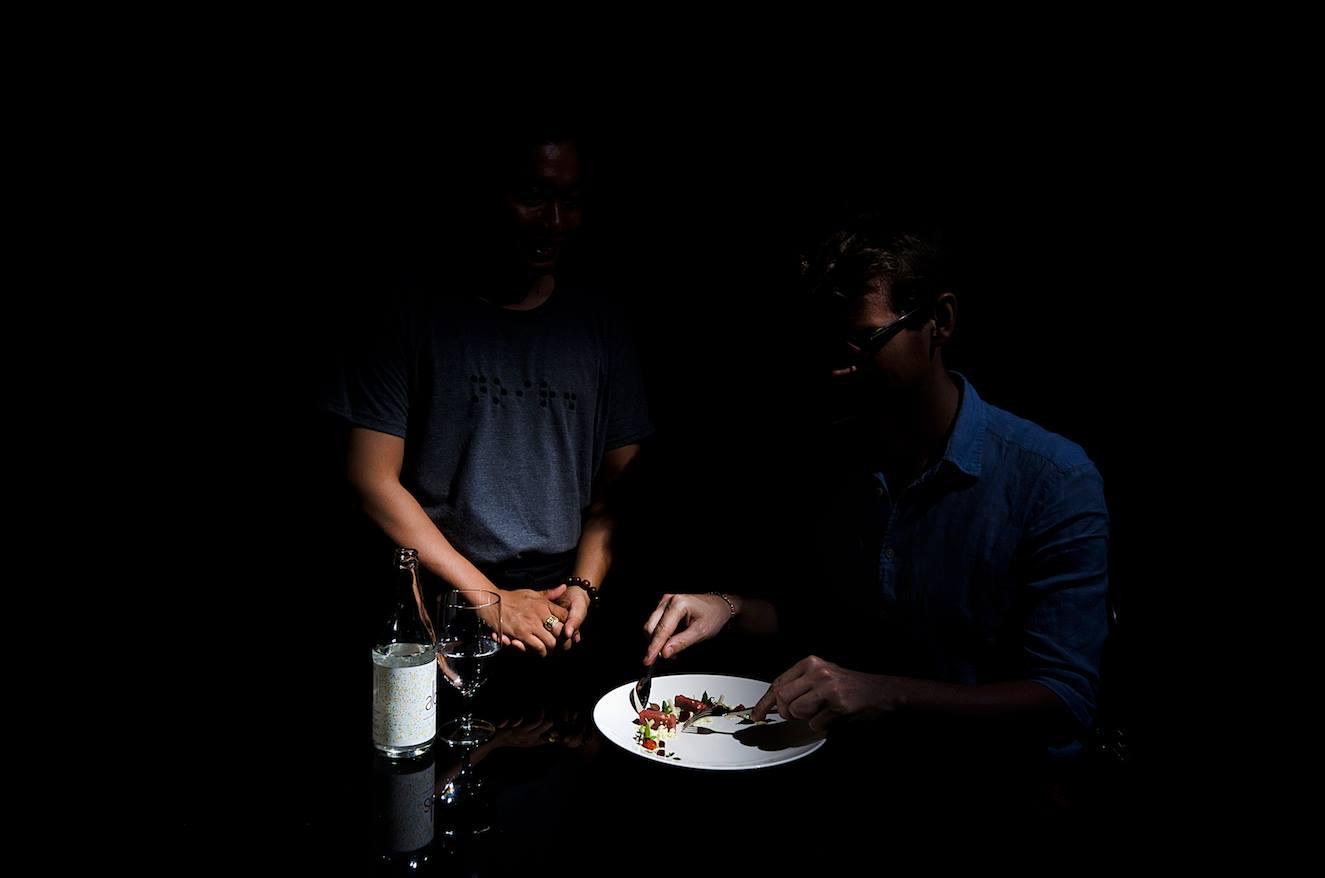 eating in the dark