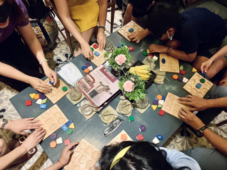 puzzle board game