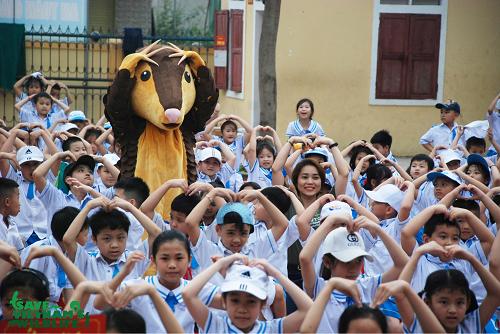 Nguyễn Văn Thái pangolin save vietnam's wildlife kindergarten education
