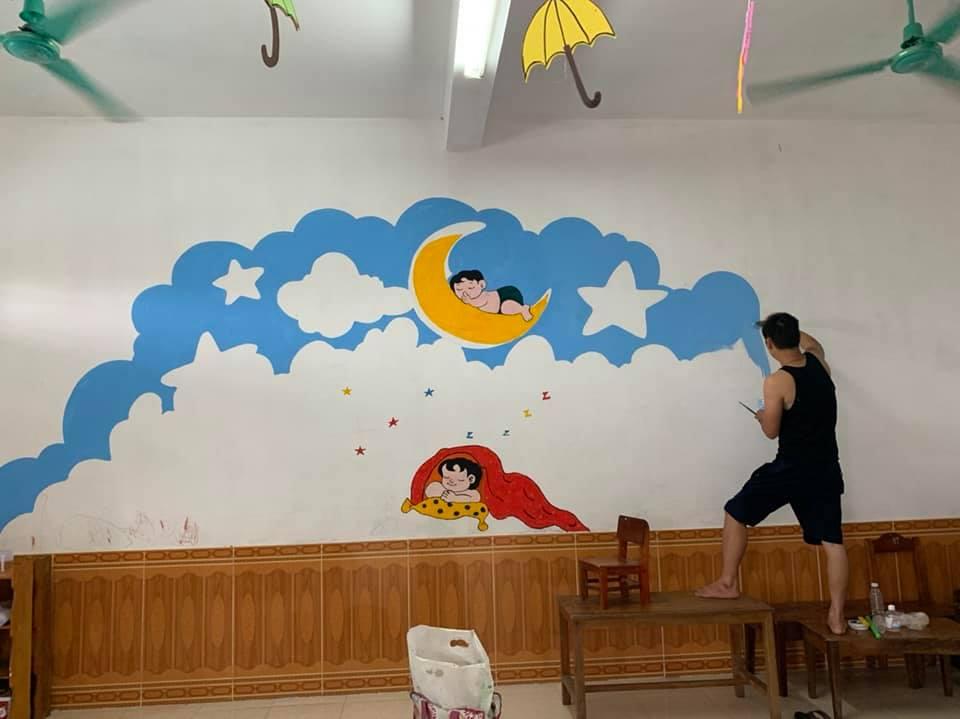 art teacher quarantine murals 2