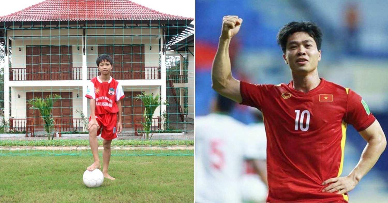 footballers childhood photos - cong phuong